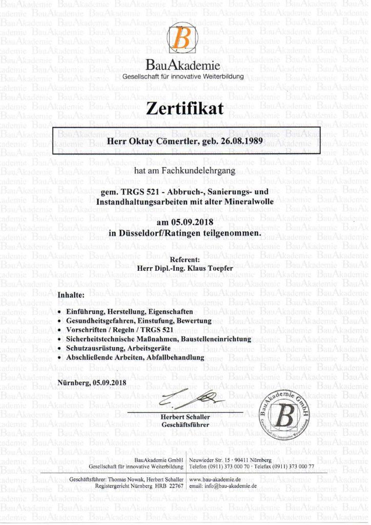 Zertifikat TRGS 521 Oktay Cömertler_page-0001